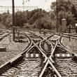 Railway junction — Foto de Stock