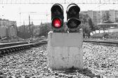 Red light — Stock Photo