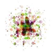 Abstrakt färgglada runda bakgrund — Stockfoto