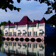 Palace on the lake — Stock Photo