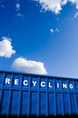 Recycling business, container and ecology — Stock Photo
