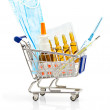 Pharmacy Shopping — Stock Photo