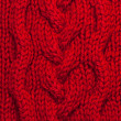 Red knitting background — Stock Photo