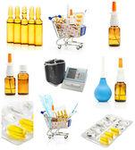 Pharmacy background — Stock Photo