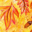 Watercolor painting — Stock Photo