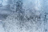 Frozen window — Foto Stock