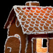 Christmas gingernut house — Stock Photo #4709231