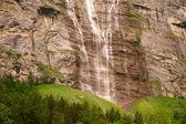 Waterfall near Lauterbrunnen — Stock Photo