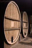 Group of barrels — Stock Photo