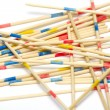 Stack of mikado sticks — Stock Photo