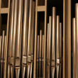 Stock Photo: Organ-pipes