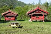 Maisons en bois — Photo