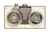 Vintage reel-to-reel tape recorder circa 1967 — Stock Photo