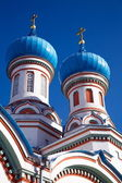 An ancient monastery in the town of Irkutsk. — Stock Photo