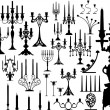 Great vector set of candles — Stockvector  #4297594