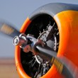 airplane propeller — Stock Photo