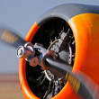 Stock Photo: Airplane propeller