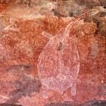 Aboriginal rock art — Stock Photo #4809092