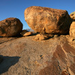 Stock Photo: Granite boulders