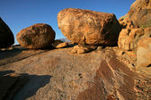 Granite boulders — Stock Photo