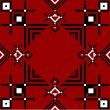 Royalty-Free Stock Векторное изображение: American indians ornaments