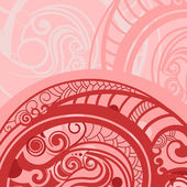 Abstract background in red — Stock Vector