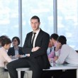 Group of business at meeting — Stock Photo #5285376