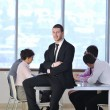 Group of business at meeting — Stock Photo #5285417