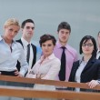 Group of business at meeting — Stock Photo #5286173