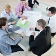 Group of business at meeting — Stock Photo #5286755