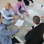 Grupo de negocios en reunión — Foto de Stock   #5286853