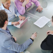 Group of business at meeting — Stock Photo #5286955