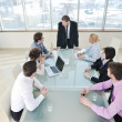 Group of business at meeting — Stock Photo #5287066