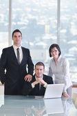 Группа бизнеса на встрече — Стоковое фото