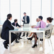 Group of business at meeting — Stock Photo #5291451