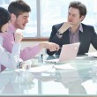 Group of business at meeting — Stock Photo #5292601