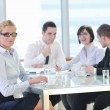 Group of business at meeting — Stock Photo #5293046