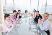 Group of business at meeting — Stockfoto