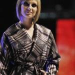 Fashion show woman catwalk — Stock Photo #5345724