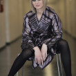 Fashion show woman catwalk — Stock Photo #5346363