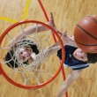 Stock Photo: Basketball competition concept