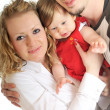 Happy young family — Stock Photo #5374183