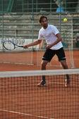 Tennis-mann — Stockfoto