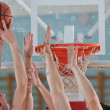 Basketball game — Stock Photo