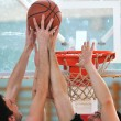 Stock Photo: Basketball game