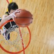 Basketball player — Stock Photo #5383413