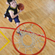 concept de compétition de basket-ball — Photo