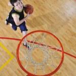 conceito de concorrência de basquete — Foto Stock