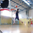 Basketbalspeler — Stockfoto