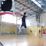 Jogador de basquete — Foto Stock